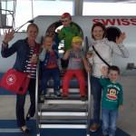 Ausflug zum Flughafen mit der Waldspielgruppe.